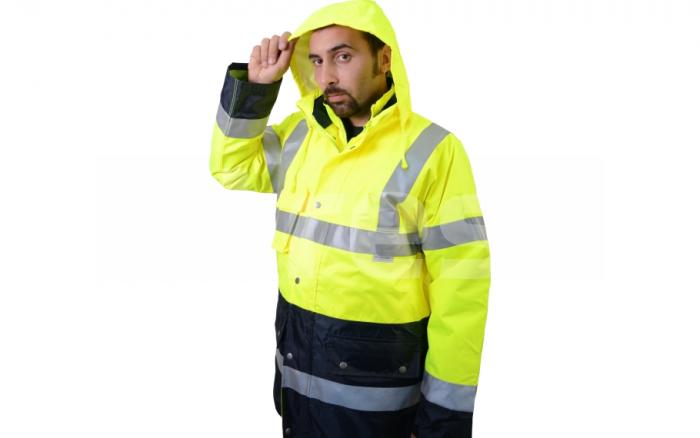 BIROAD, jacheta de iarna reflectorizanta, 3 in 1 7