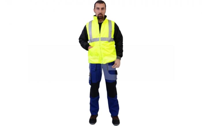 BIROAD, jacheta de iarna reflectorizanta, 3 in 1 4