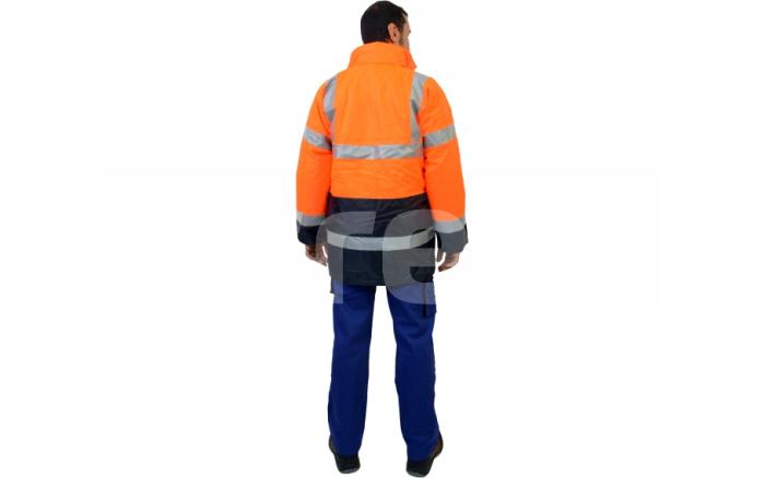 BIROAD, jacheta de iarna reflectorizanta, 3 in 1 9