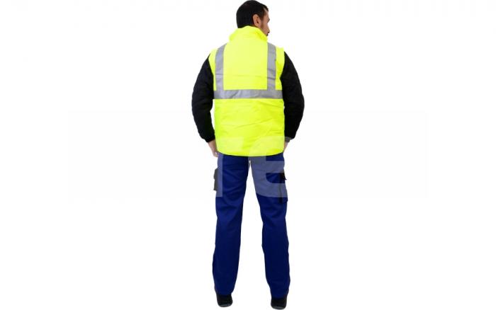 BIROAD, jacheta de iarna reflectorizanta, 3 in 1 5