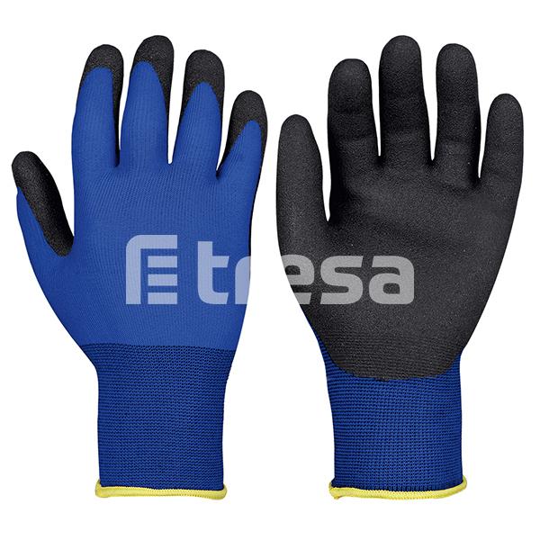 BLUE, Manusi de protectie din nylon, imersate in PVC-HPT [0]