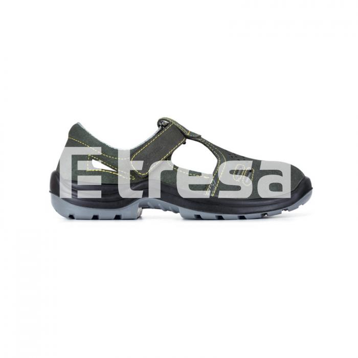 BRACCIANO S1P, Sandale de protectie cu bombeu, lamela antiperforatie, talpa SRC [0]