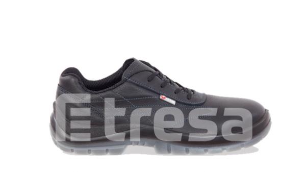 CAPRI S3,  Pantof de protectie cu bombeu, lamela antiperforatie, fete hidrofobizate, talpa SRC [0]