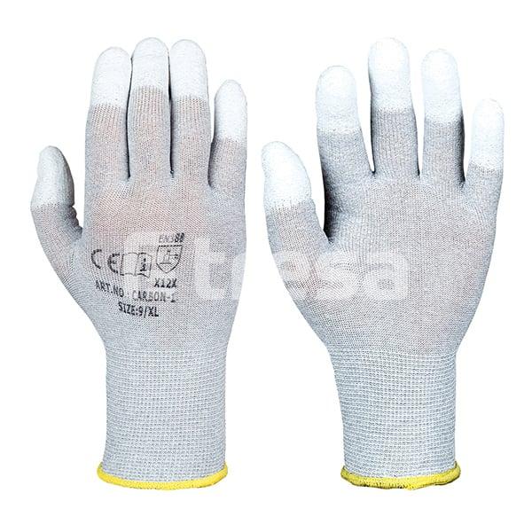 Carbon-1, manusi de protectie din Nylon si carbon 0