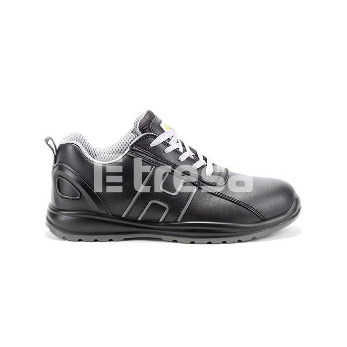 CHARCOAL S3, Pantof de protectie cu bombeu, lamela antiperforatie, fete hidrofobizate, talpa SRC 0
