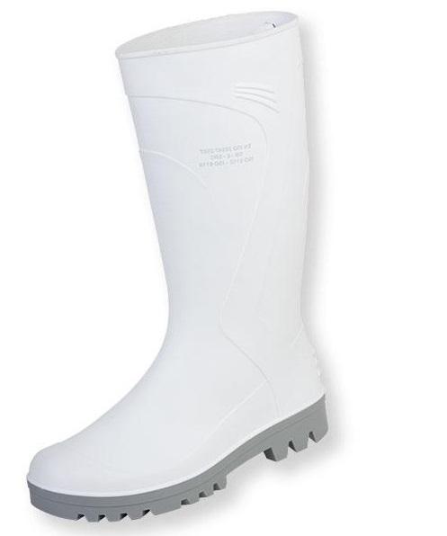 CIZALB OB SRA, cizme de lucru din PVC, culoare alb 0