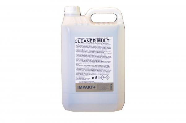 CLEANER MULTI, Igienizant pe baza de clor pentru suprafete, 5 litri 0