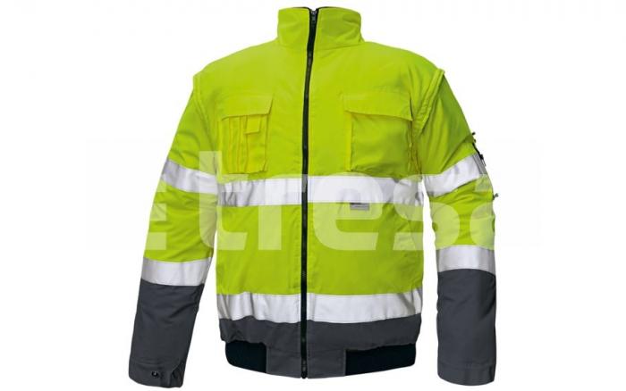 CLOVELLY, jacheta de iarna reflectorizanta, 2 in 1 6