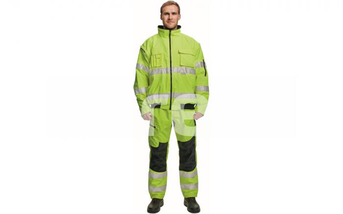 CLOVELLY, jacheta de iarna reflectorizanta, 2 in 1 2