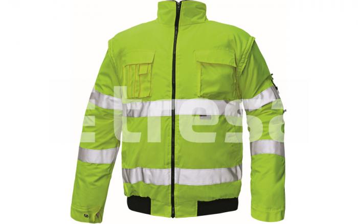 CLOVELLY, jacheta de iarna reflectorizanta, 2 in 1 3