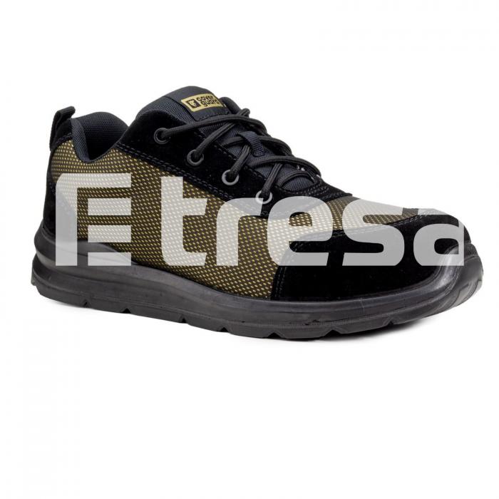 GOLD S1P, Pantofi de protectie cu bombeu, lamela antiperforatie, talpa SRC ESD [0]