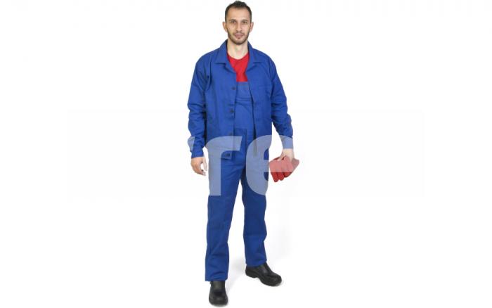 MEX, Costum salopeta cu pieptar din bumbac 0