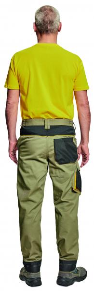 CREMORNE, Pantaloni de lucru din bumbac si poliester 13
