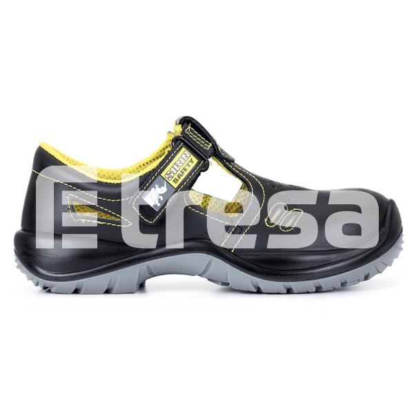 DARA S1, Sandale de protectie cu bombeu, talpa SRC [0]