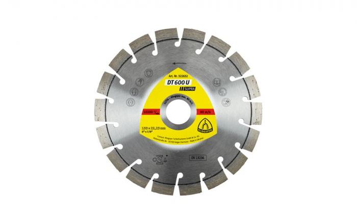 Disc diamantat pt debitare Klingspor DT600U SUPRA 0