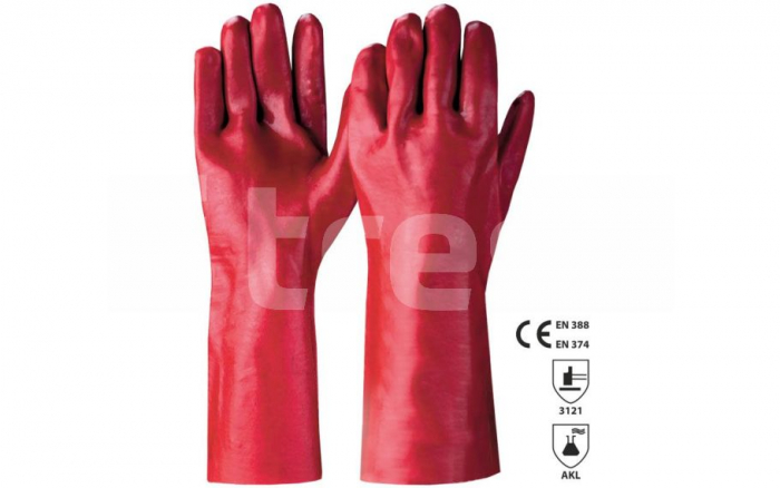 ERIE, Manusi de protectie antichimica din PVC [0]