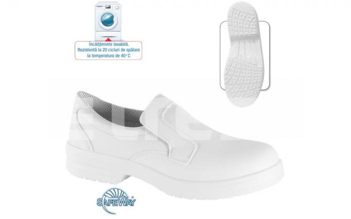 Gladiolus S1 SRC, pantofi de protectie din microfibra cu bombeu metalic 0