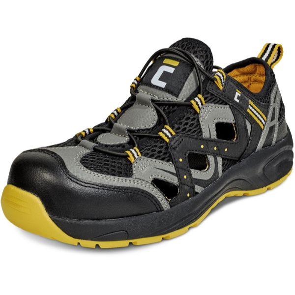 HENFORD S1, Sandale de protectie cu bombeu, talpa SRC 0