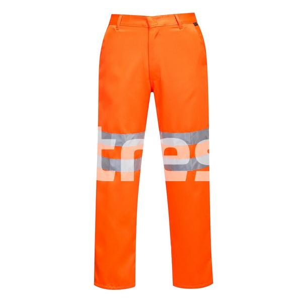 HI-VIS POLI-BUMBAC RIS, Pantaloni din poliester si bumbac 0