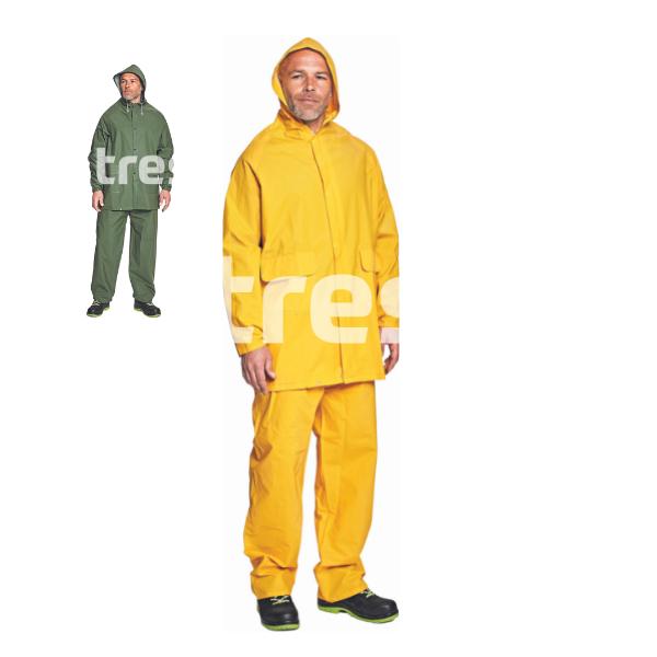 HYDRA, Costum de ploaie din PVC si poliester [0]