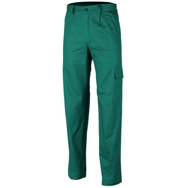 INDUSTRY, Pantalon de lucru standard din poliester si bumbac 2