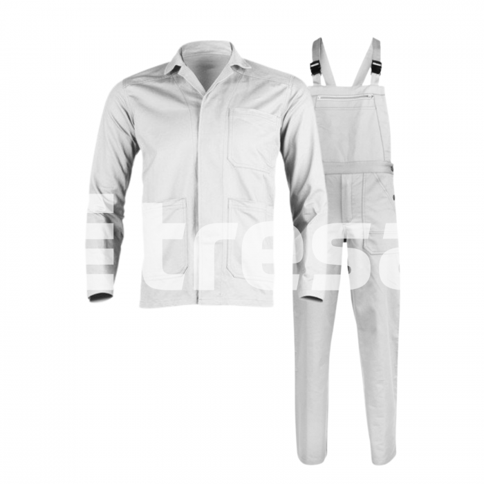 INDUSTRY PP, Costum din jacheta + pantaloni pieptar din poliester si bumbac 1