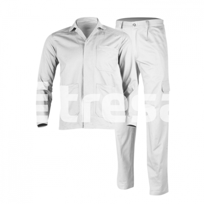 INDUSTRY PS, Costum din jacheta + pantaloni standard din poliester si bumbac 2