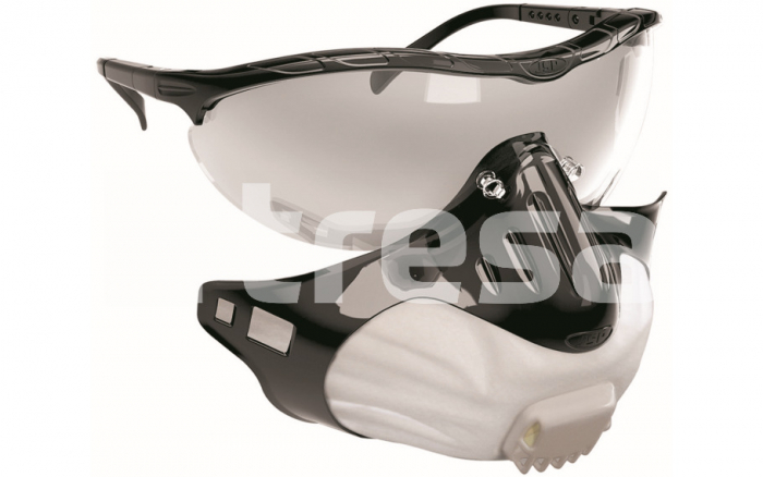 JSP FILTERSPEC, semimasca cu ochelari de protectie 0