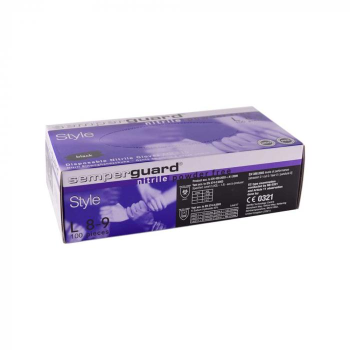 Set Manusi Semperguard Nitril, 100 buc / cutie 0