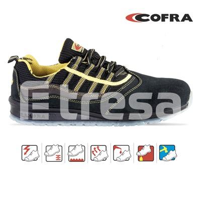 MARCIANO S1P, Pantofi de protectie cu bombeu, lamela antiperforatie, talpa SRC 0