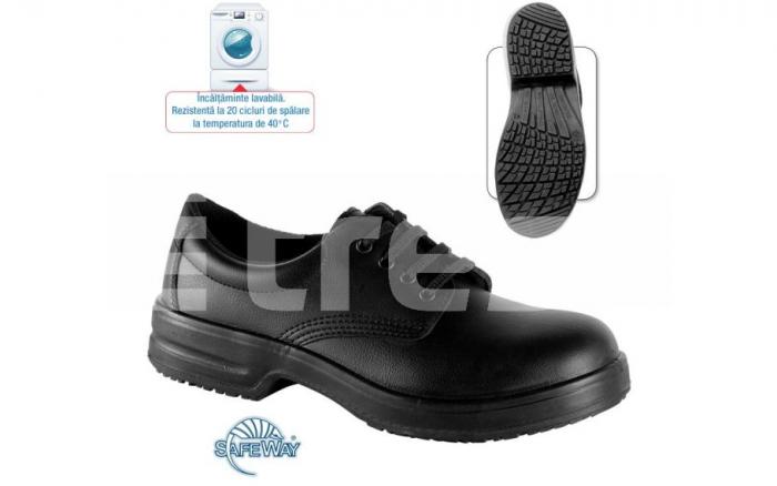 Marjoram S1 SRC, pantofi de protectie din microfibra cu bombeu metalic 0