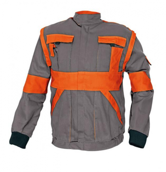 MAX CLASSIC, Jacheta de lucru 2 in 1 din bumbac, Marimi 44 - 62L 8