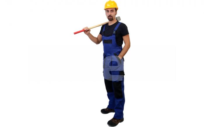 MAX CLASSIC, Salopeta de lucru din bumbac 5