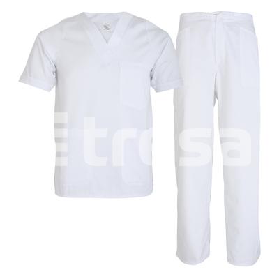 MEDA, costum alb din tercot 0