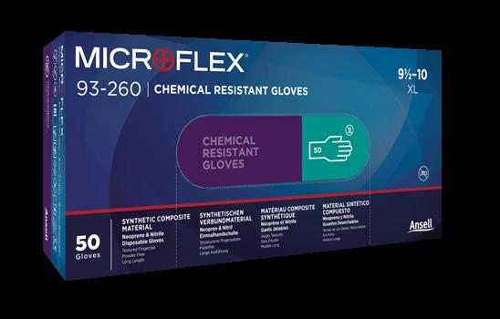 MICROFLEX, Manusi de unica folosinta din nitril si neopren (set 50 bucati) 1