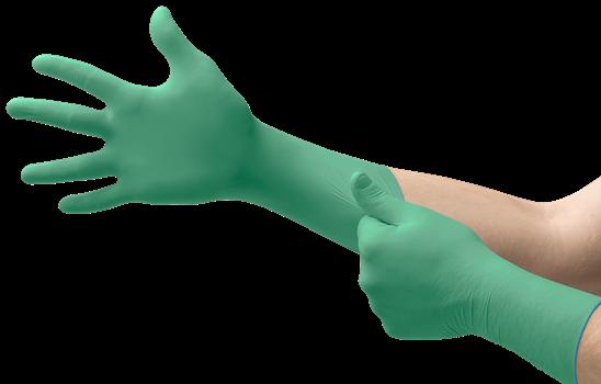 MICROFLEX, Manusi de unica folosinta din nitril si neopren (set 50 bucati) 0
