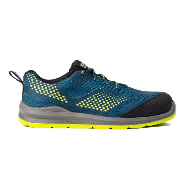 MILERITE S1P, Pantofi de protectie cu bombeu si lamela antiperforatie, Talpa SRC 6