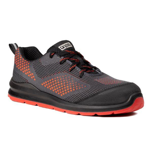 MILERITE S1P, Pantofi de protectie cu bombeu si lamela antiperforatie, Talpa SRC 1