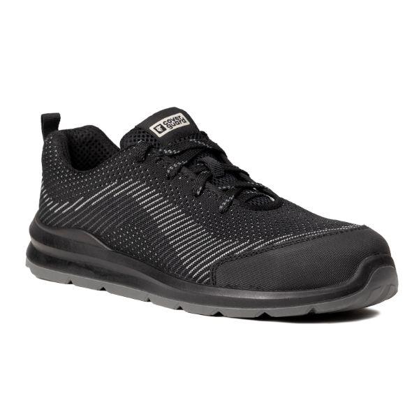 MILERITE S1P, Pantofi de protectie cu bombeu si lamela antiperforatie, Talpa SRC 0