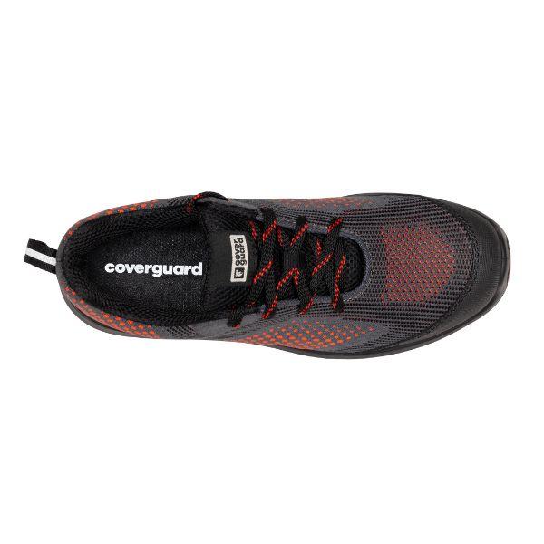 MILERITE S1P, Pantofi de protectie cu bombeu si lamela antiperforatie, Talpa SRC 2