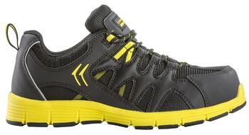 MOVE S3, Pantofi de protectie usori cu bombeu din aluminiu, lamela antiperforatie textila si fete hidrofobizate, talpa SRA [6]