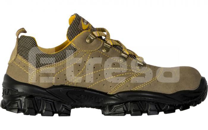 NEW NILO S1P, Pantofi de protectie cu bombeu, lamela antiperforatie, talpa SRC 2