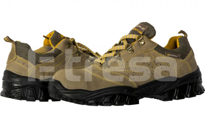 NEW NILO S1P, Pantofi de protectie cu bombeu, lamela antiperforatie, talpa SRC 0