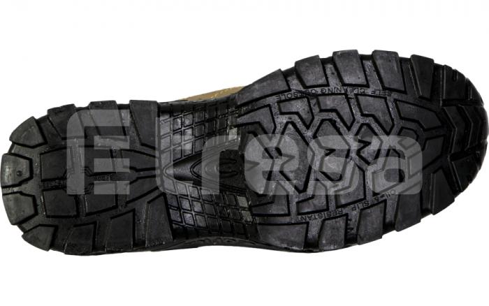 NEW NILO S1P, Pantofi de protectie cu bombeu, lamela antiperforatie, talpa SRC 6