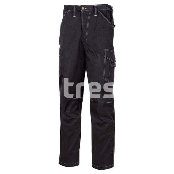 NEW WILLIAM, Pantalon de lucru din bumbac si spandex 0