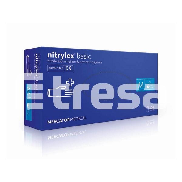 NYTRILEX  PROTECT/BASIC, Manusi de examinare din nitril, nepudrate (Set 200 bucati) 0