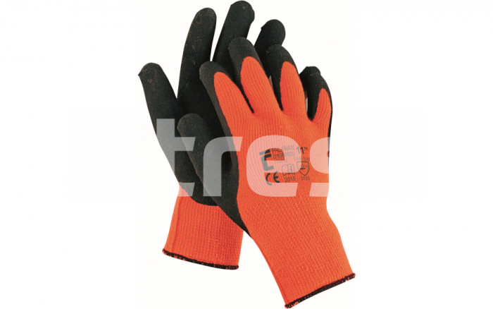 PALAWAN ORANGE, manusi de protectie Nylon/Latex 0