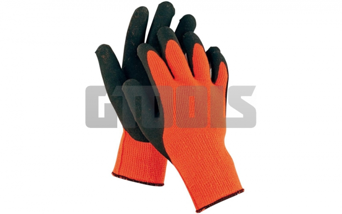 PALAWAN ORANGE, manusi de protectie Nylon/Latex 1