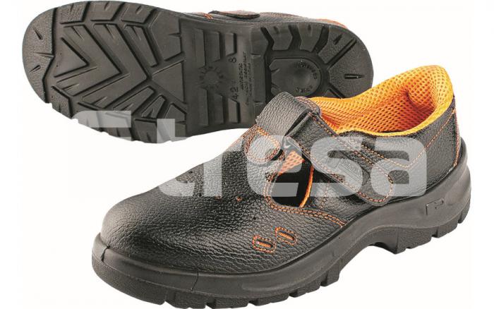 Panda Ergon S1, sandale de protectie cu bombeu metalic 0