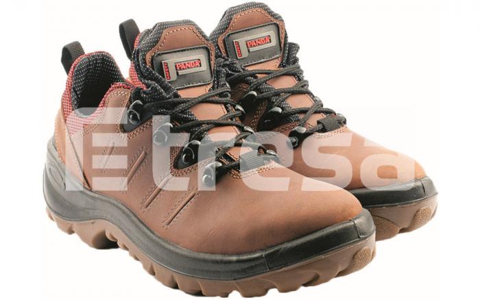 Panda Miura S3, pantofi de protectie cu bombeu metalic, lamela antiperforatie, fete hidrofobizate 0